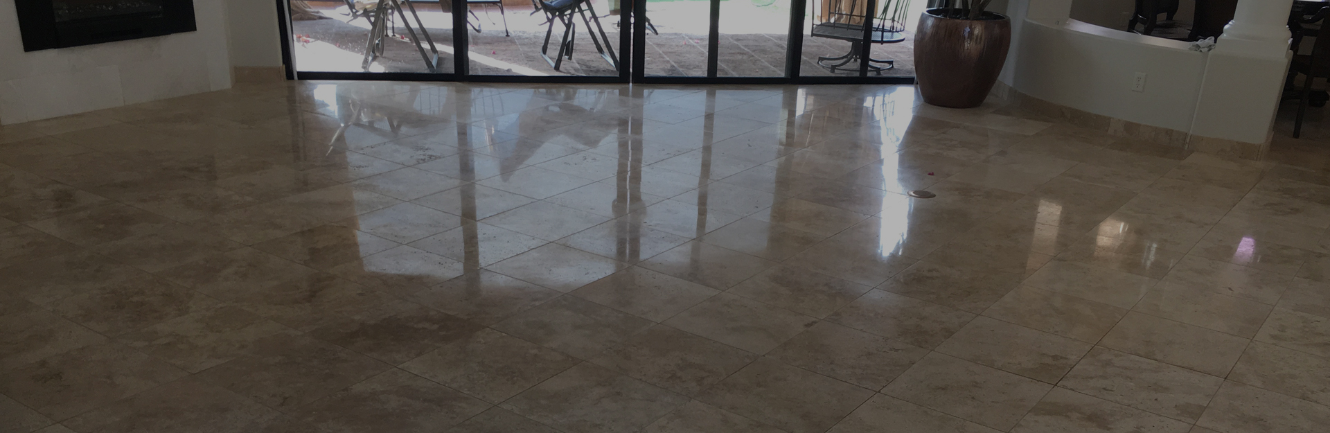 Experience with years in tile and grout cleaning
